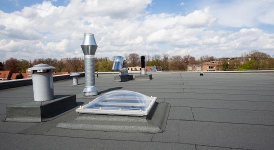 Dakbedekking voor platte daken